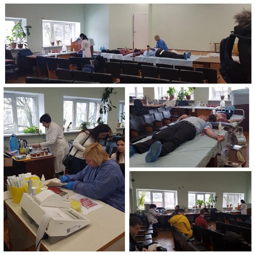 Виїзний день донора в Київському міському пологовому будинку №1. Підсумки.